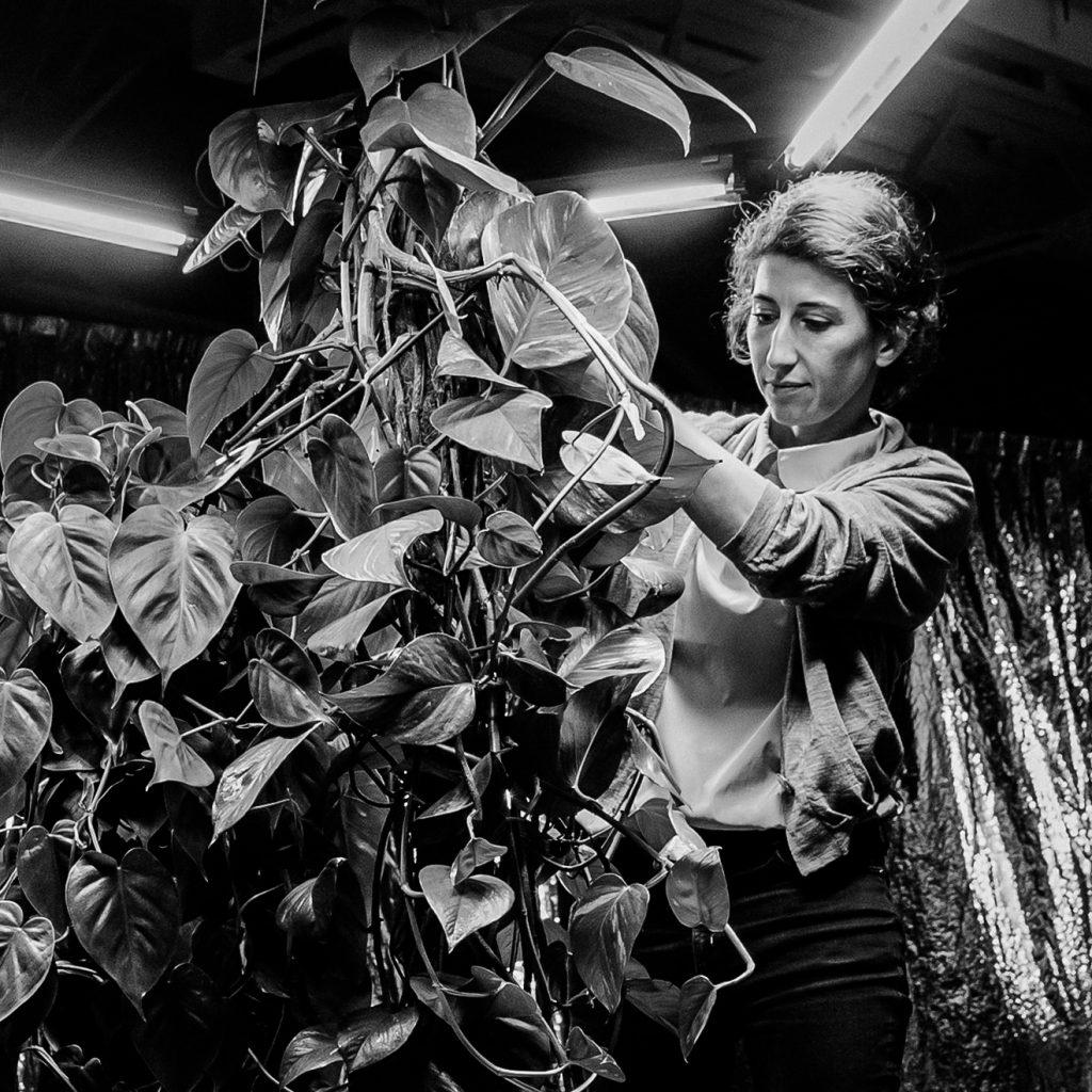 Céline Condorelli. Photo by Agostino Osio, 2015